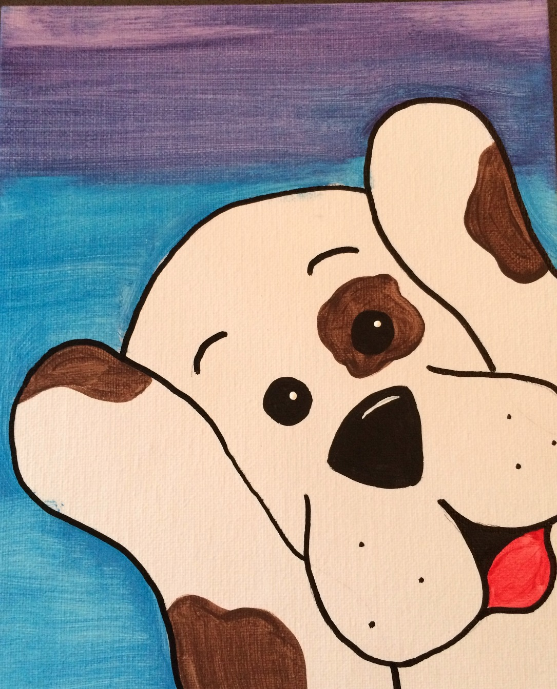 Peekin' Pup