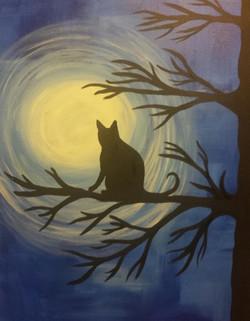 moonlit kitty