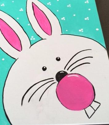 Peekin' Bunny