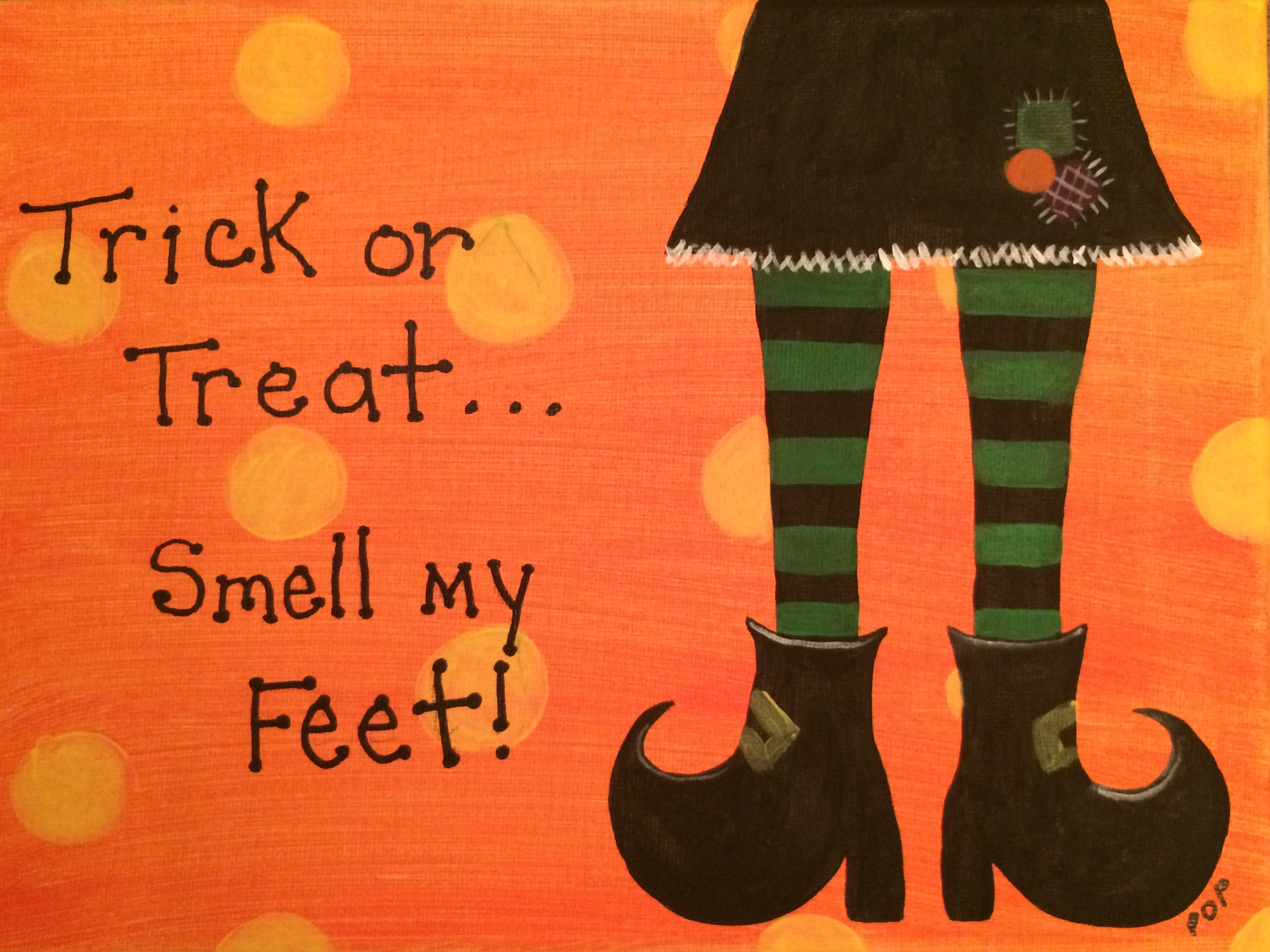 Witches Feet