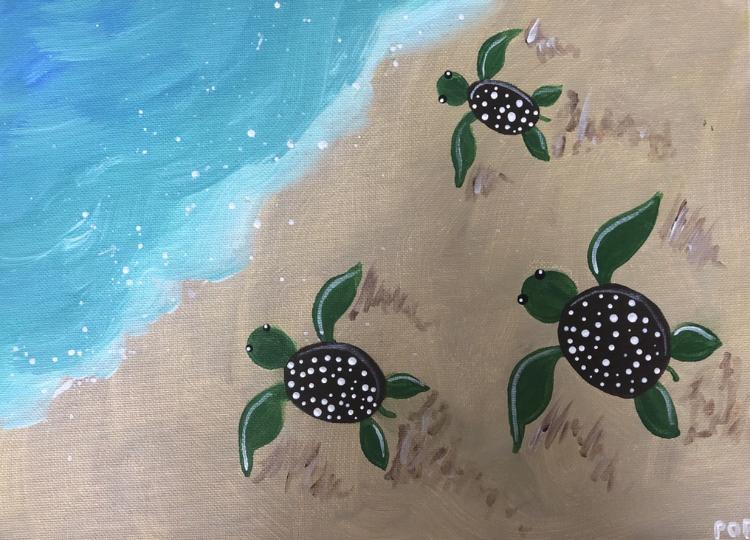 Beachy Turtles