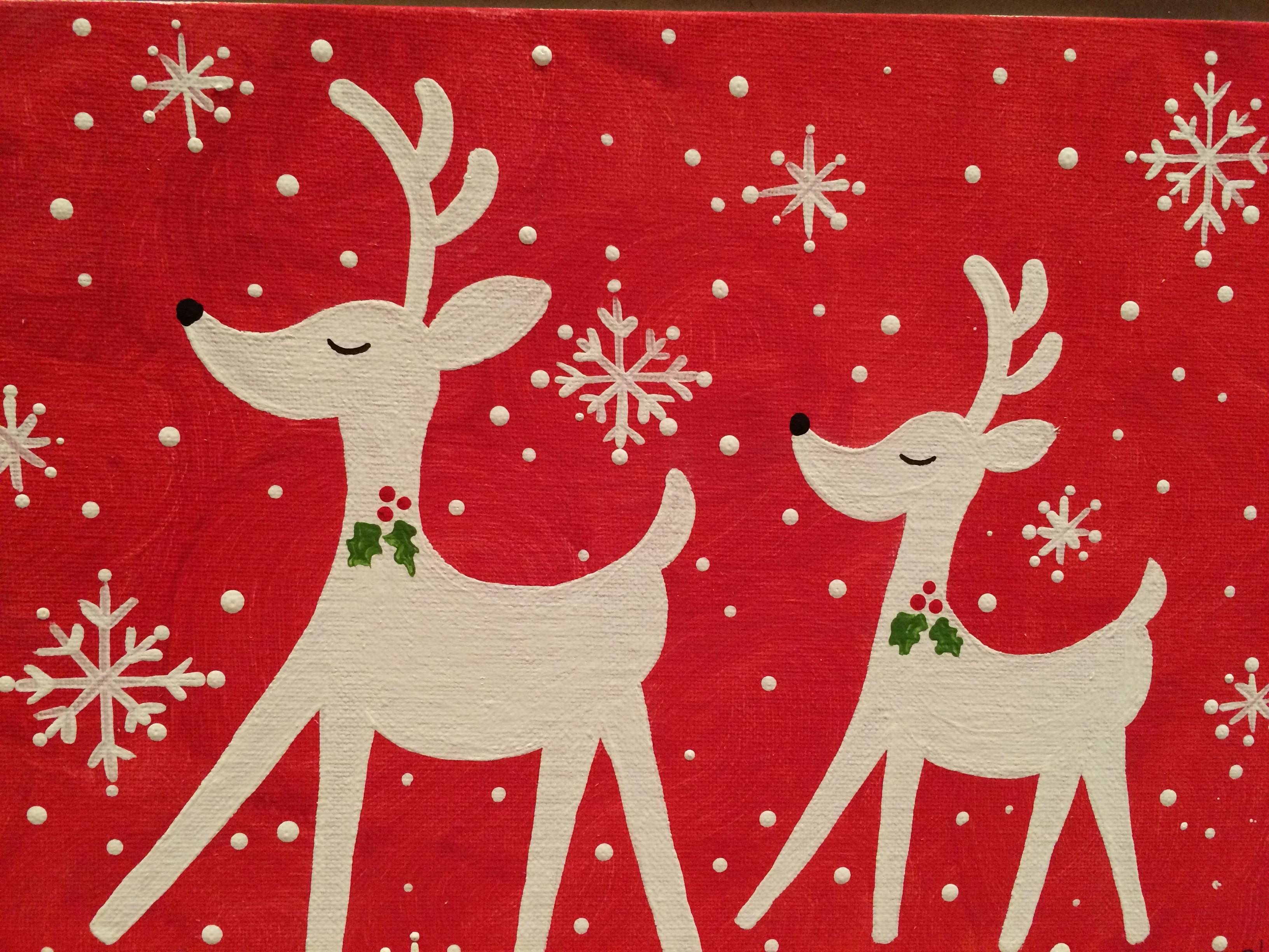 Twin Reindeer