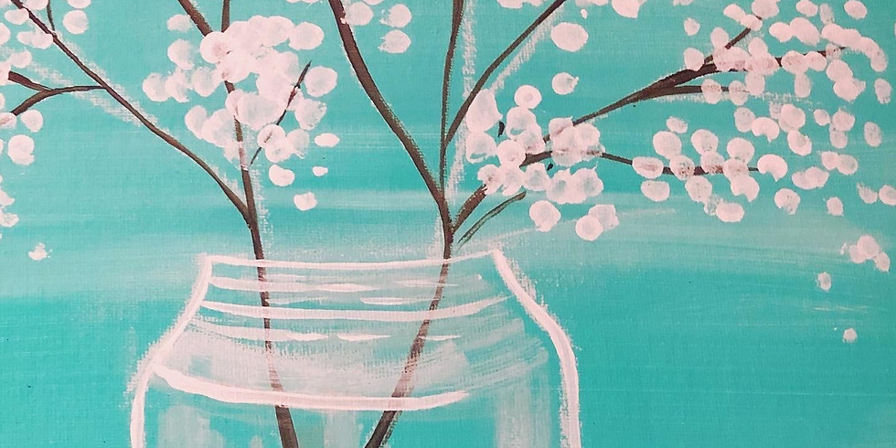 Painting in the Park - Flower Jar