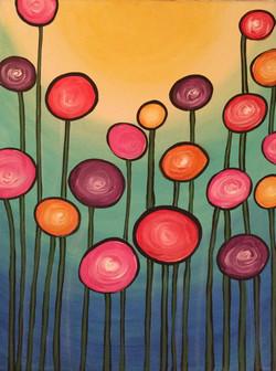 Lollipop Flowers