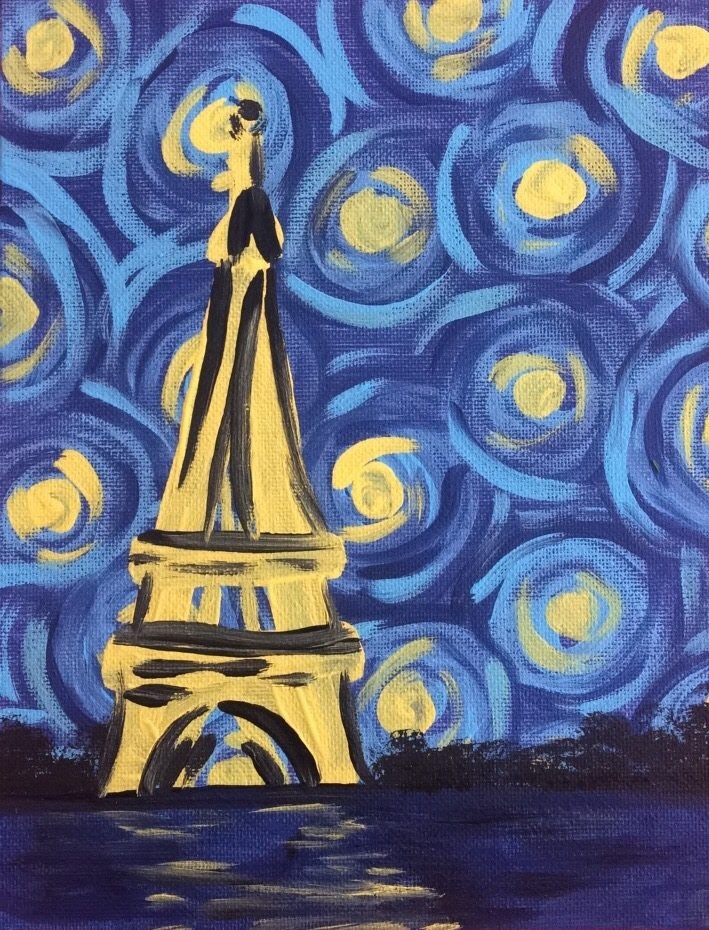 Paris Starry Night