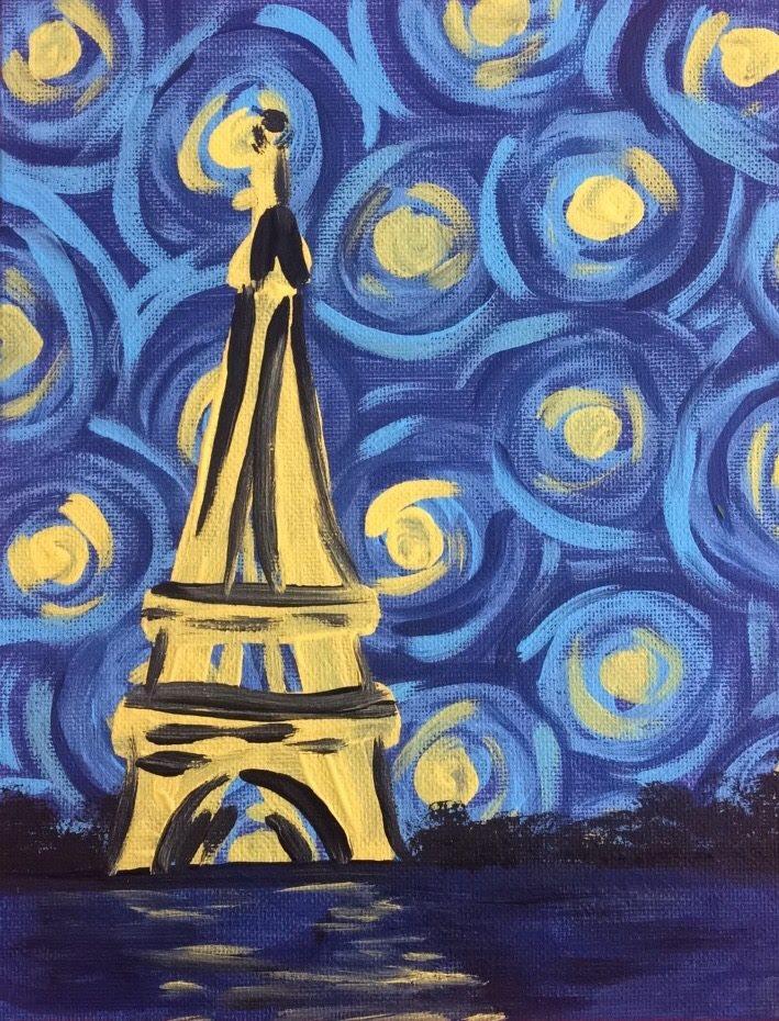 Paris Starry Night