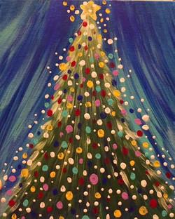 Sparkled Christmas Tree