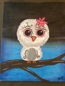 scroll owl