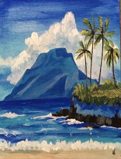ocean mountain