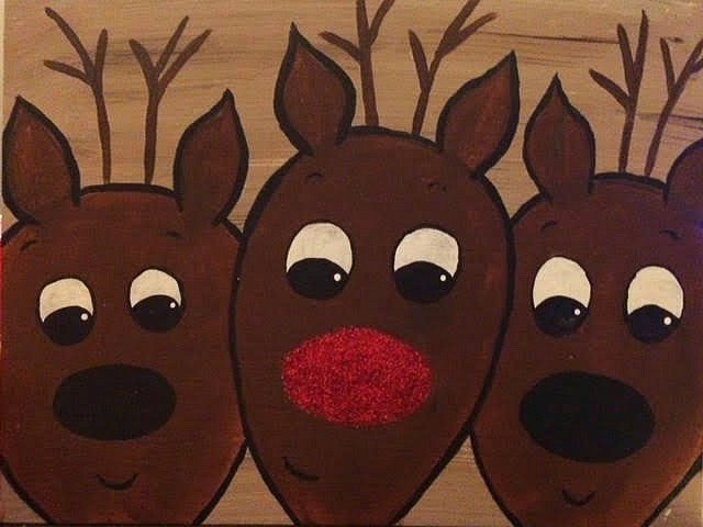 Dasher, Rudolph & Vixen