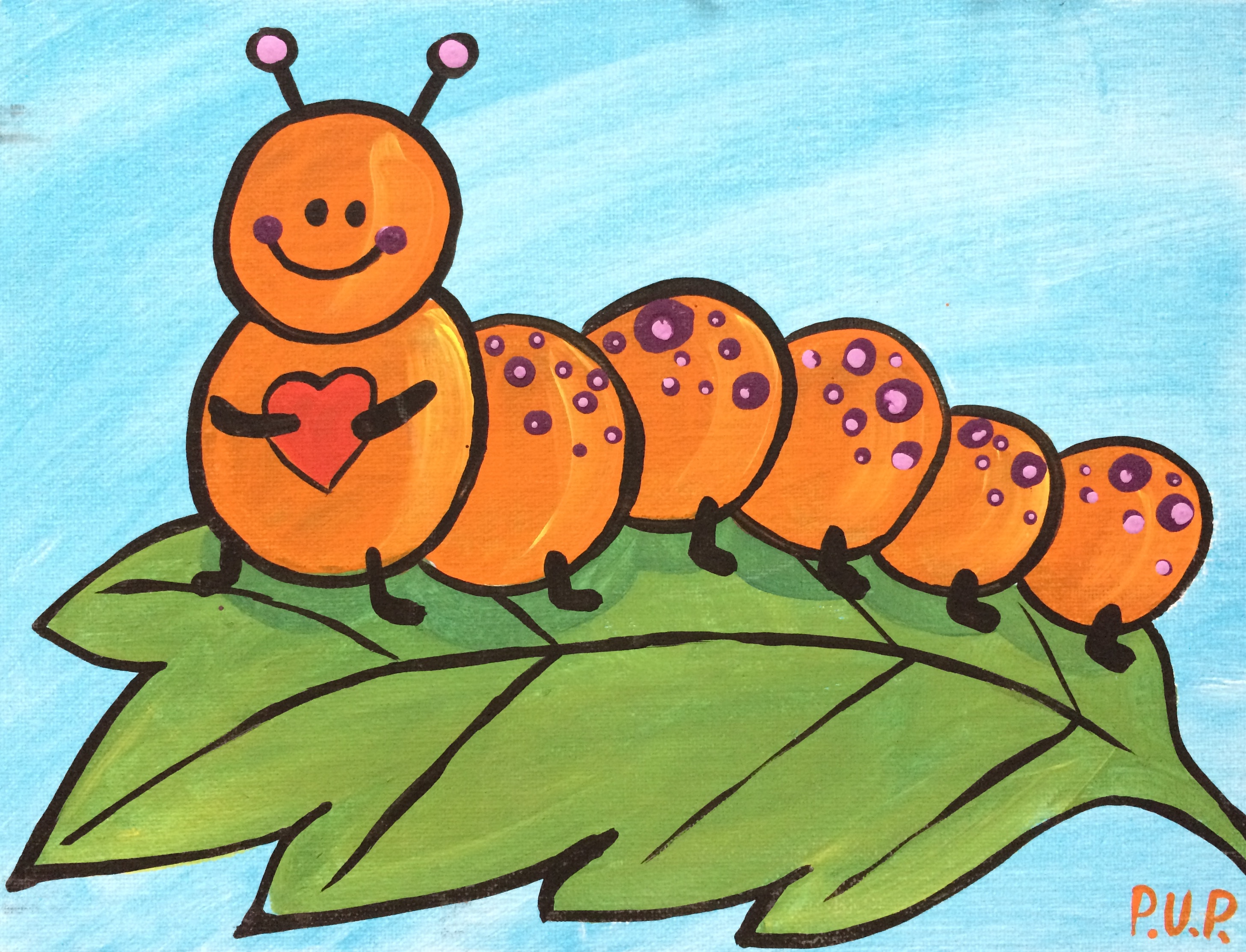 Caterpillar Love