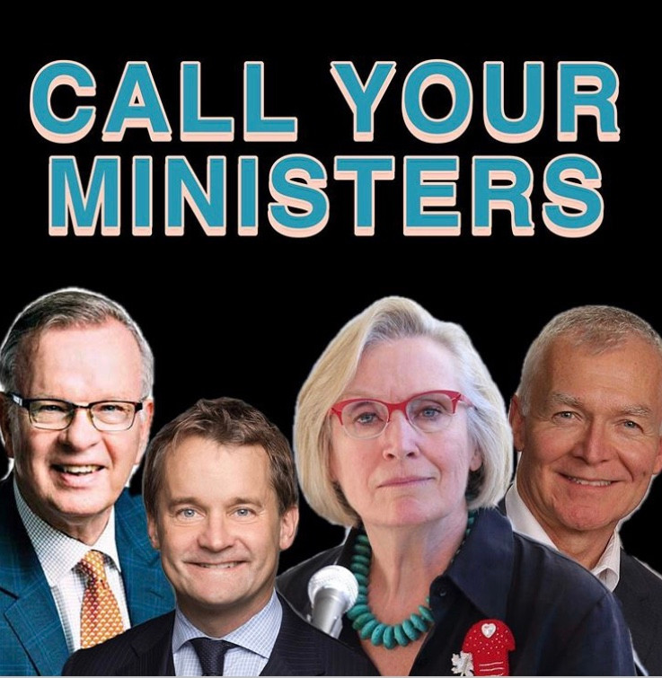 Call Your Ministers