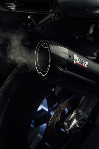Mivv Exhaust System on a RSV1000R Factory