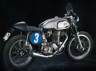 Norton Manx m40 Race Bike Cafe Racer
