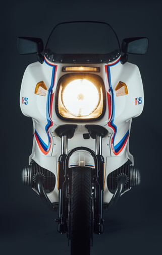 BMW R100RS with custom Motorsport Paintwork