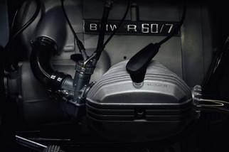 Close up of BMW R60/5 cylinder