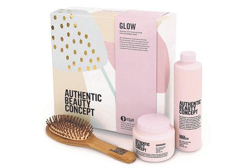 Authentic Beauty Concept ZESTAW GLOW ze szczotką