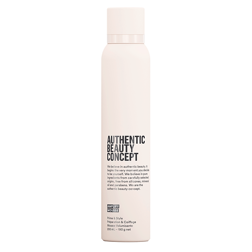 Authentic Beauty Concept AMPLIFY MOUSSE 200 ml pianka do objętości