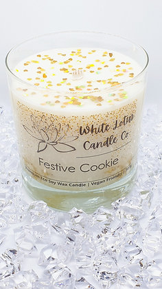 Festive Cookie Candle