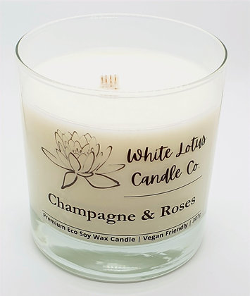Champagne & Roses Candle