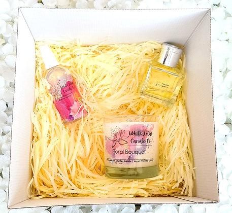 Floral Bouquet - Large Gift Set