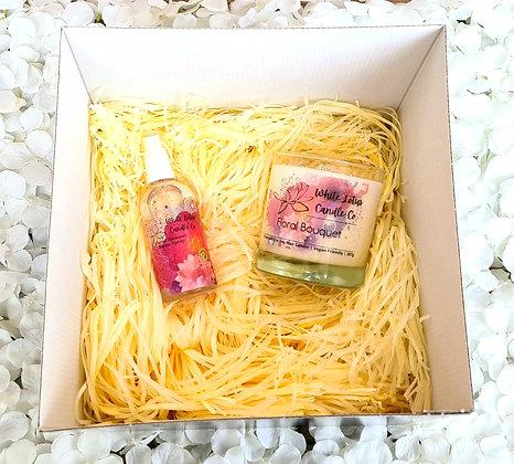 Floral Bouquet - Medium Gift Set