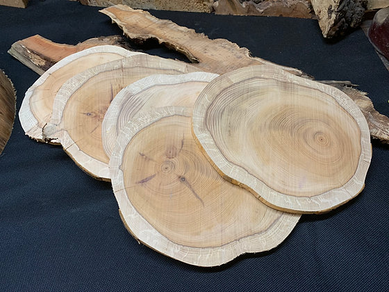 Yew Disc 220mm x 180mm x 10mm