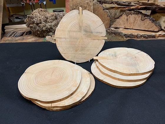 Cedar Disc (Rustic) 230mm x 10mm