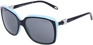 Tiffany 4076 80553F Black sunglasses