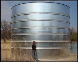 4.8 Meters High Circular Modular tan
