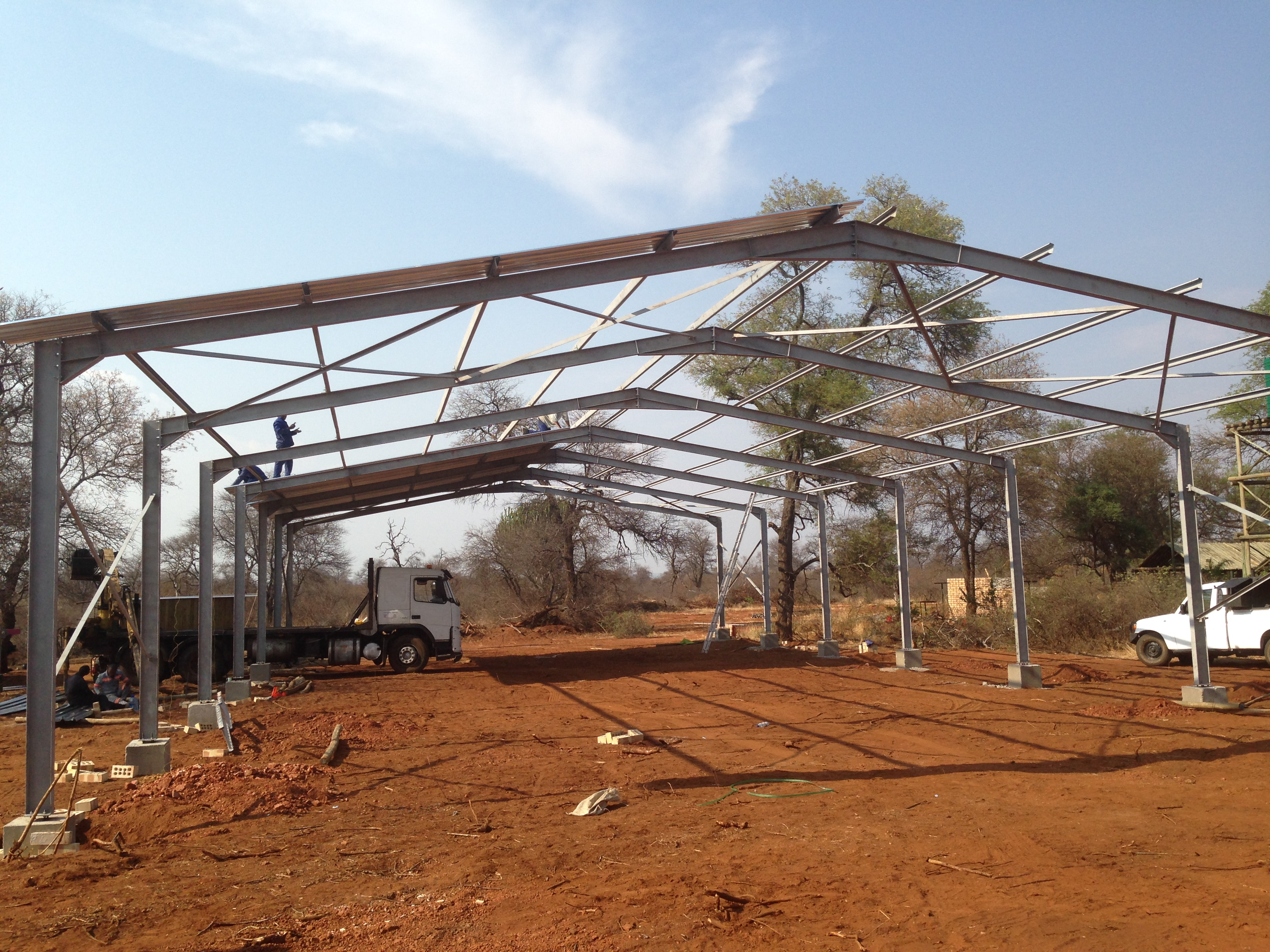 Steel Portal frame, SavannaStructure