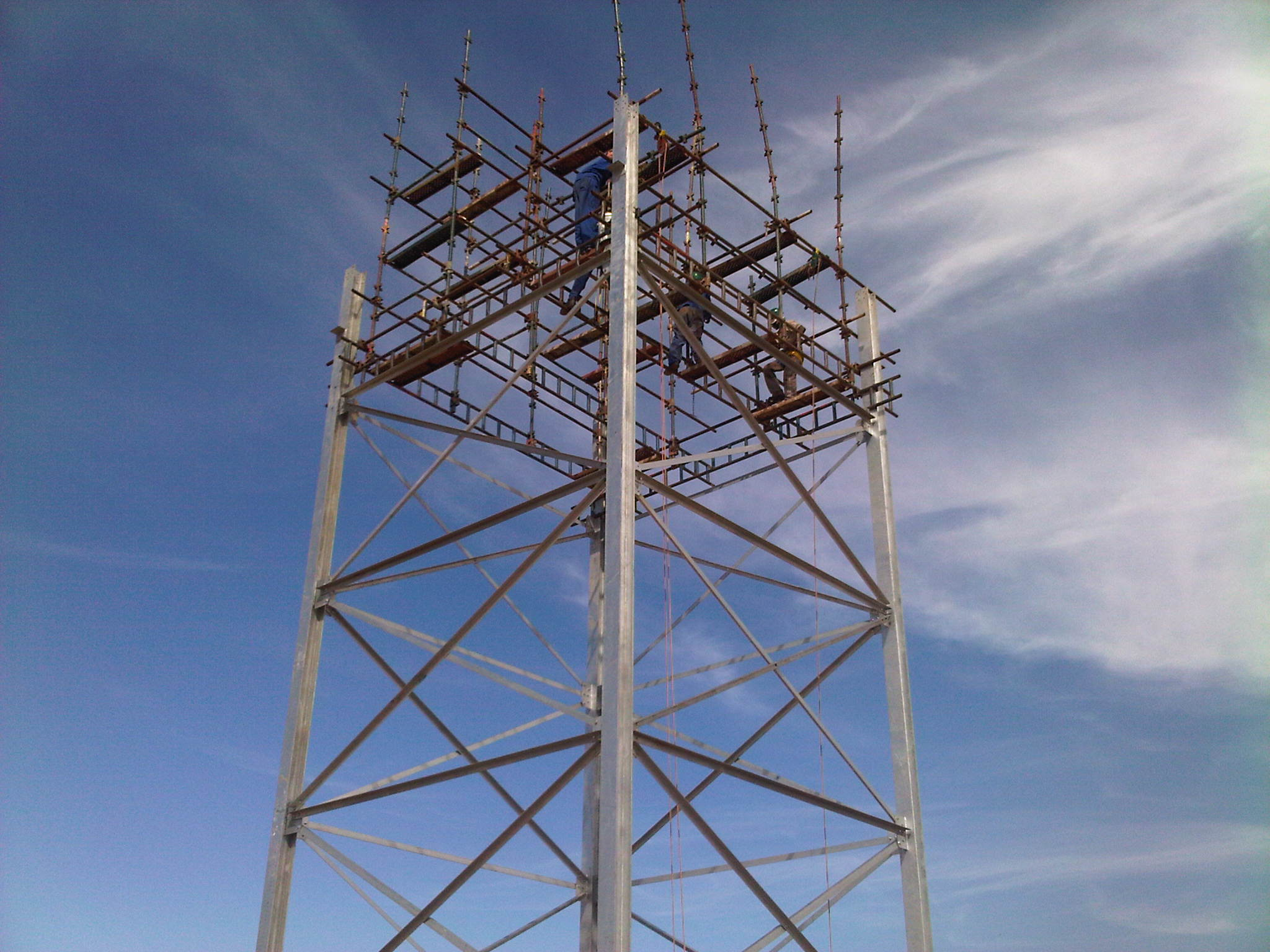 25 m Tower Stand without Crane