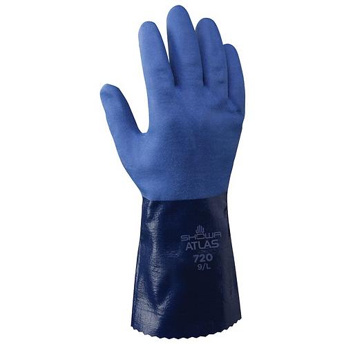"""Nitrile Gauntlet Gloves Size 12"""" (pack of 12)"""