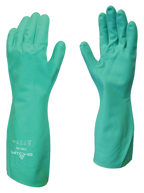 Chemical Resistant Gloves Size L (pack of 12)