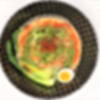 ほうれん草麺冷担々麺.JPG