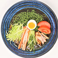 ほうれん草麺冷やし中華.JPG