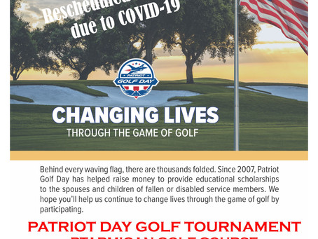 Folds of Honor Golf Tournament rescheduled for Sept. 14, 2020