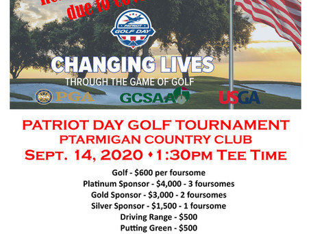 Folds of Honor Golf Tournament Sponsorships Now Available