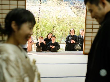 家族とめぐる結婚記念写真 京都・梨木神社編
