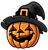 Halloween-pumpkin-with-witches-hat-vecto
