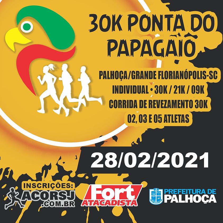 LANÇAMENTO - ENCERRADO**  30K CORRIDA DE REVEZAMENTO PONTA DO PAPAGAIO 2021