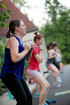 Magnolia Fitness outdoor classes
