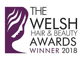 Winner Logo  Welsh Hair & Beauty Awards
