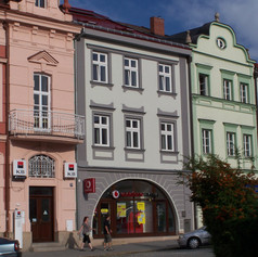 Revitalizace měštanského domu č.p 85, Náměstí, Valašské Meziříčí