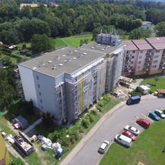 Revitalizace bytového domu - Frýdlant nad Ostravicí,ul. Pionýrů 899