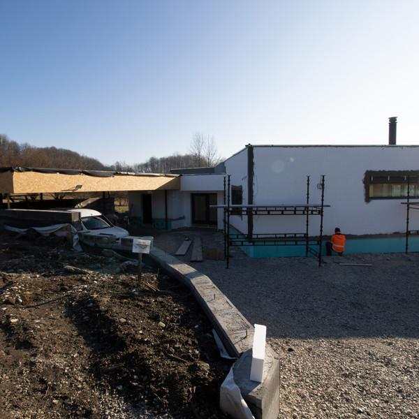 Moderní přízemní rodinný dům v obci Tichá