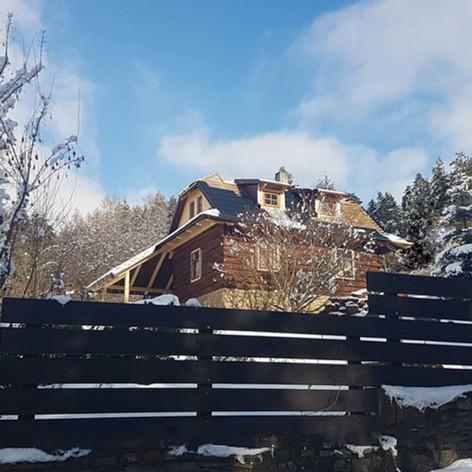 Rekonstrukce dřevěnice Hrachovec