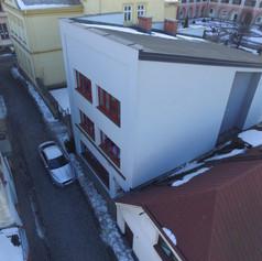 Fukncionalistický dům, Valašské Meziříčí Stříbrná
