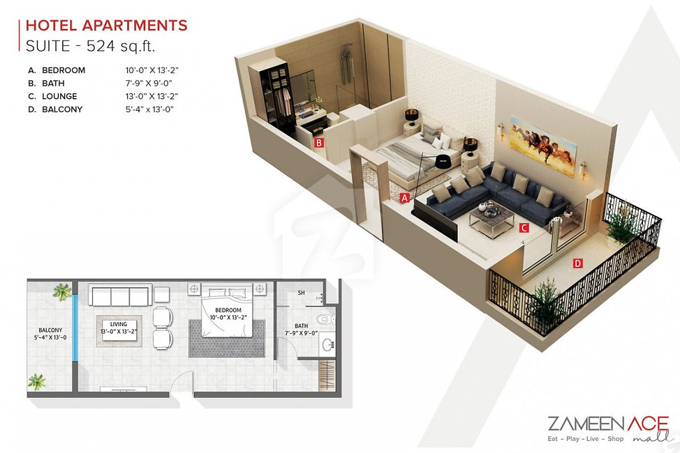 zameen_ace_mall_1bed 524.jpg