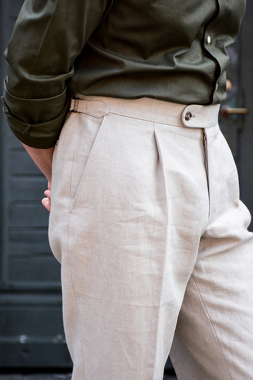 W.Bill linen Trousers MTO